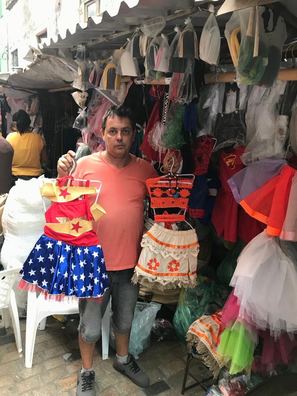 Comerciante Fábio dos Santos