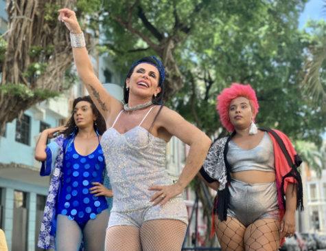 Gretchen estrela clipe da Prefeitura do Recife