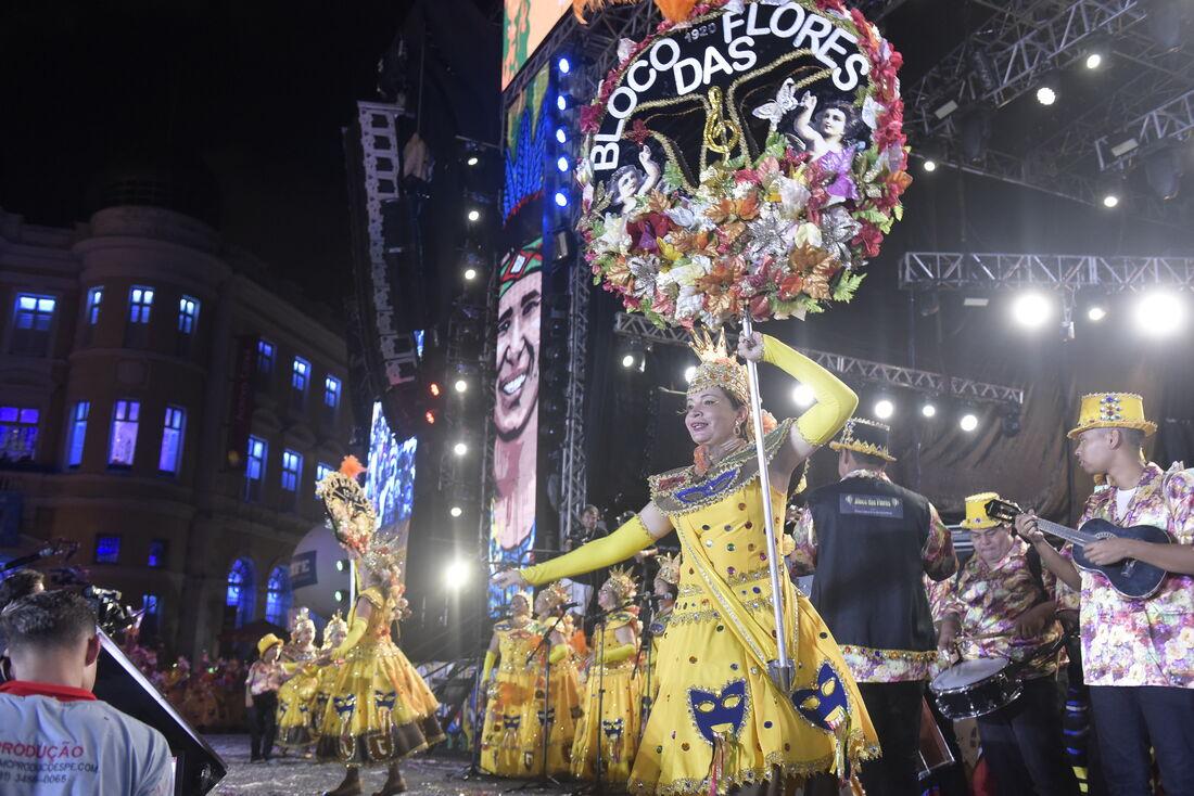 Bloco das Flores, homenageado do Carnaval 2020