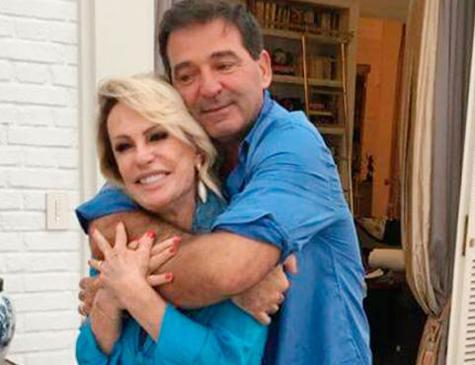 Ana Maria e o francês Johnny Lucet