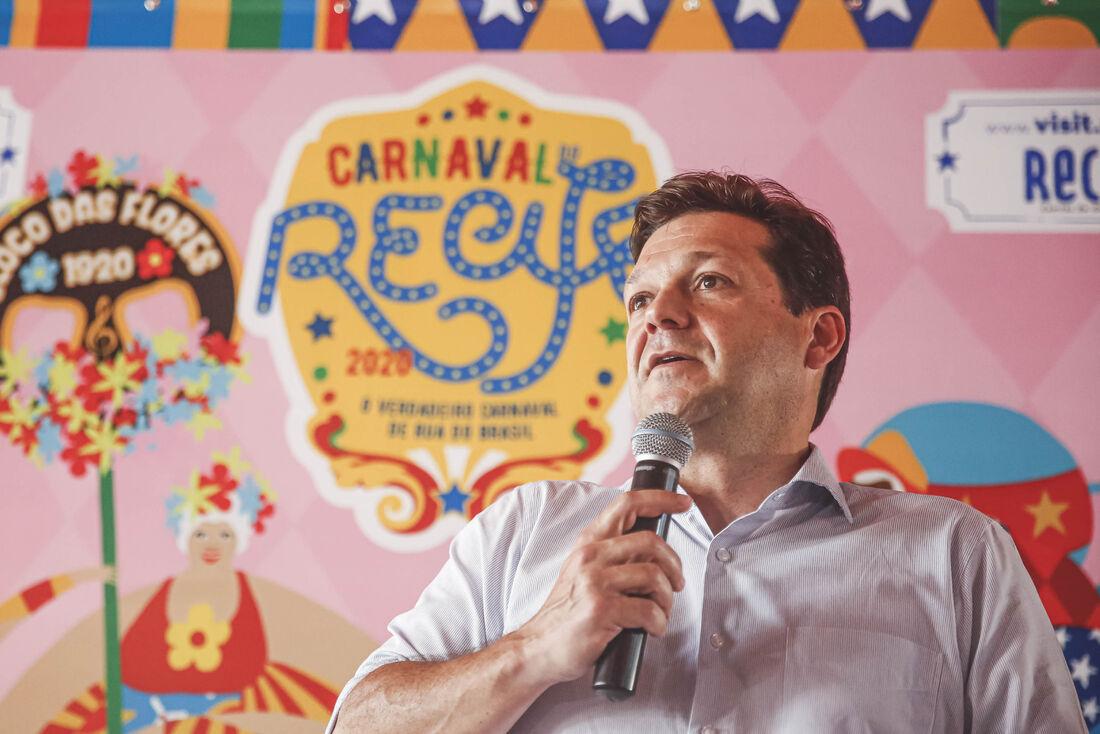 Prefeito do Recife Geraldo Julio