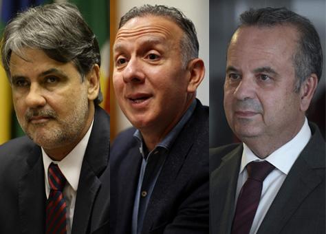 Raul Henry, Aguinaldo Ribeiro e Rogério Marinho