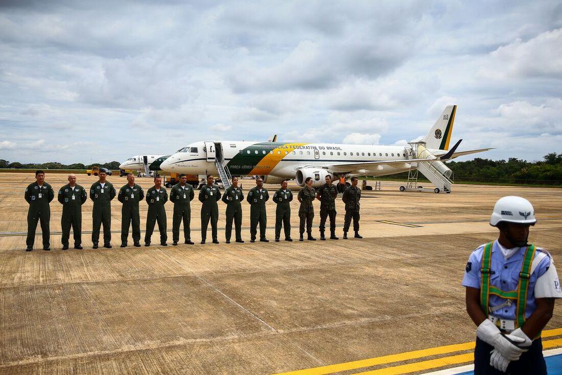 Aviões da FAB partem para Wuhan