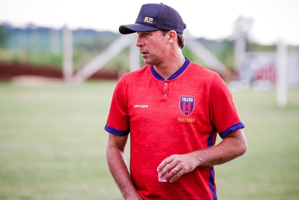 Paulo Baier, ex-técnico do Toledo