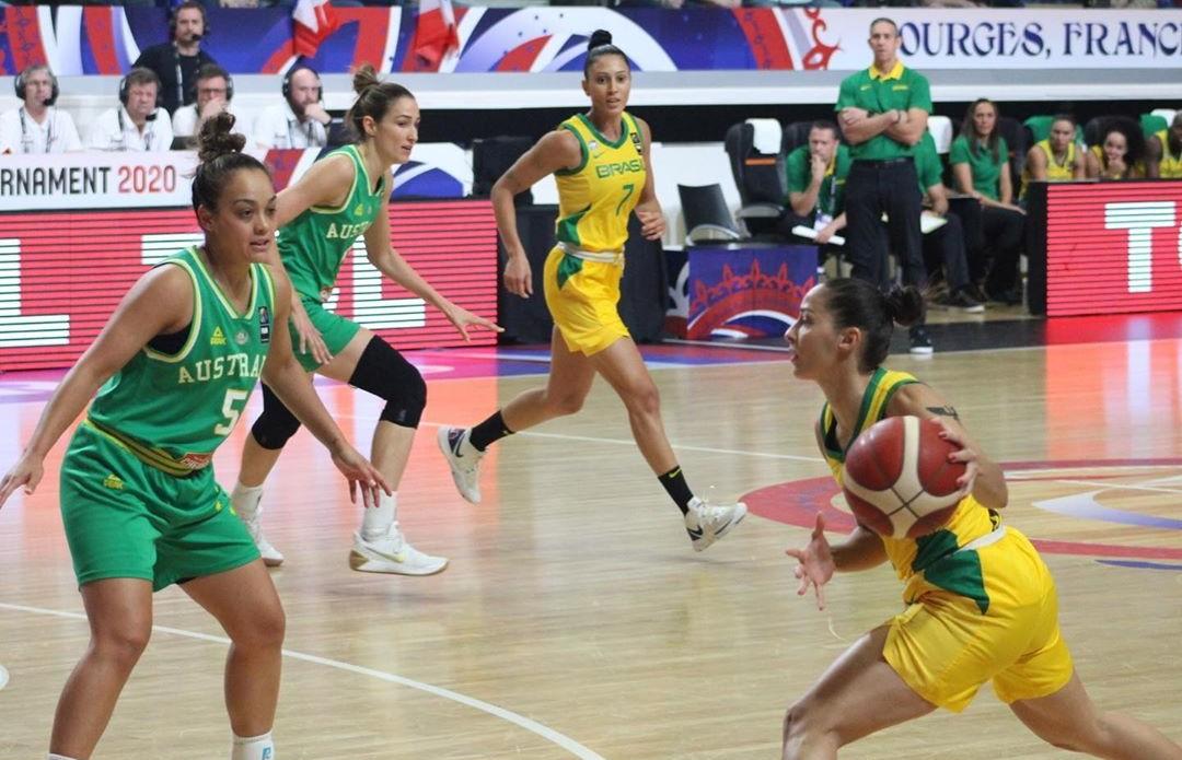 Seleção feminina de basquete ficou de fora dos Jogos em Tóquio