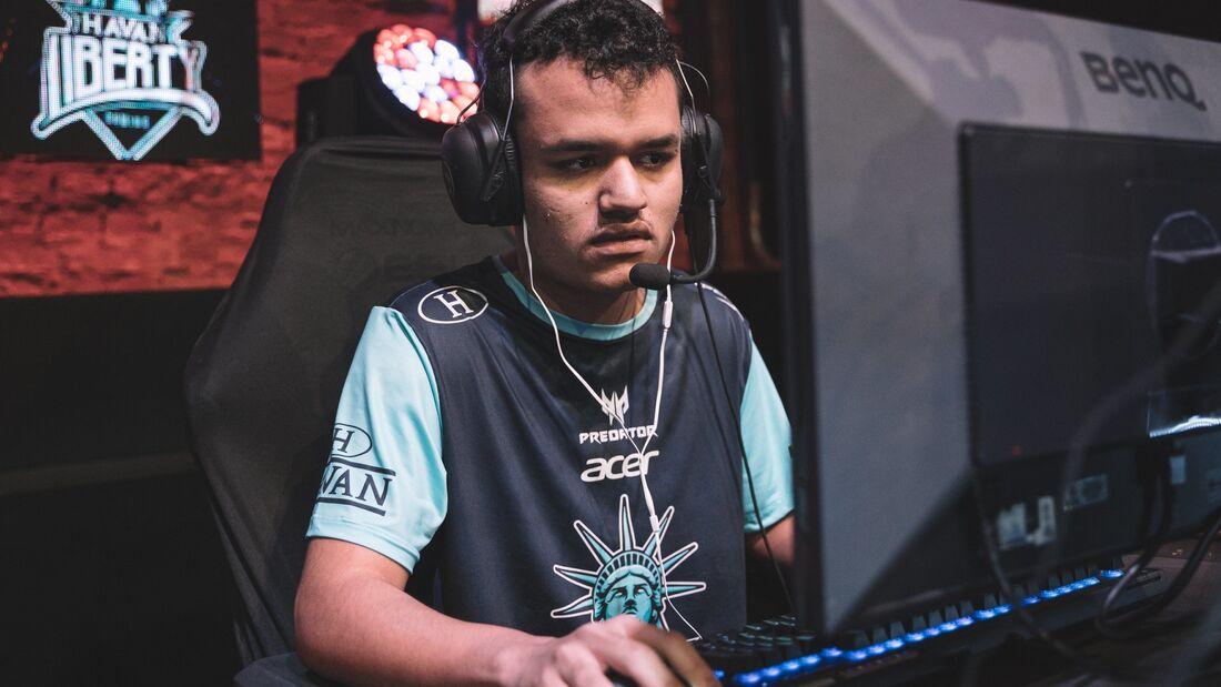 Cariok, jogador de League of Legends da Havan Liberty Gaming