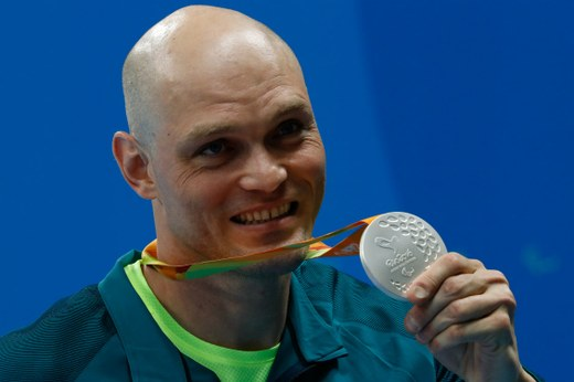 Carlos Farrenberg, nadador paralímpico do Brasil