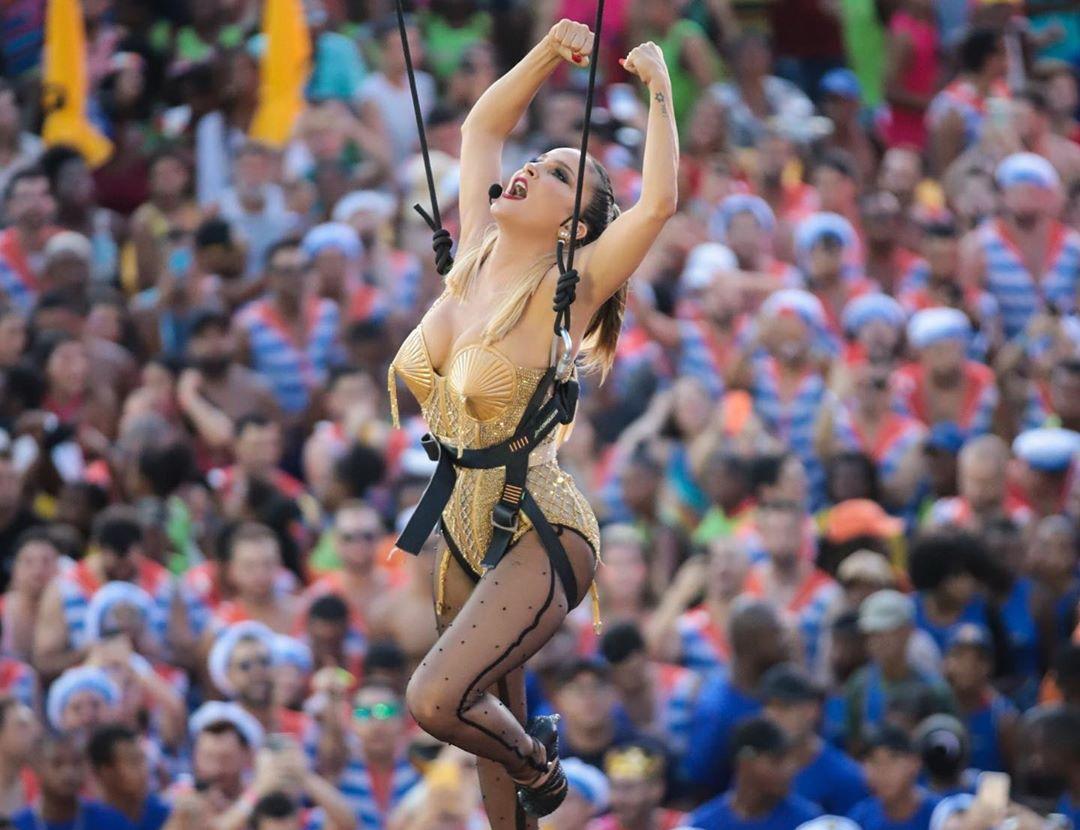 Claudia Leitte em Carnaval de Salvador 2020