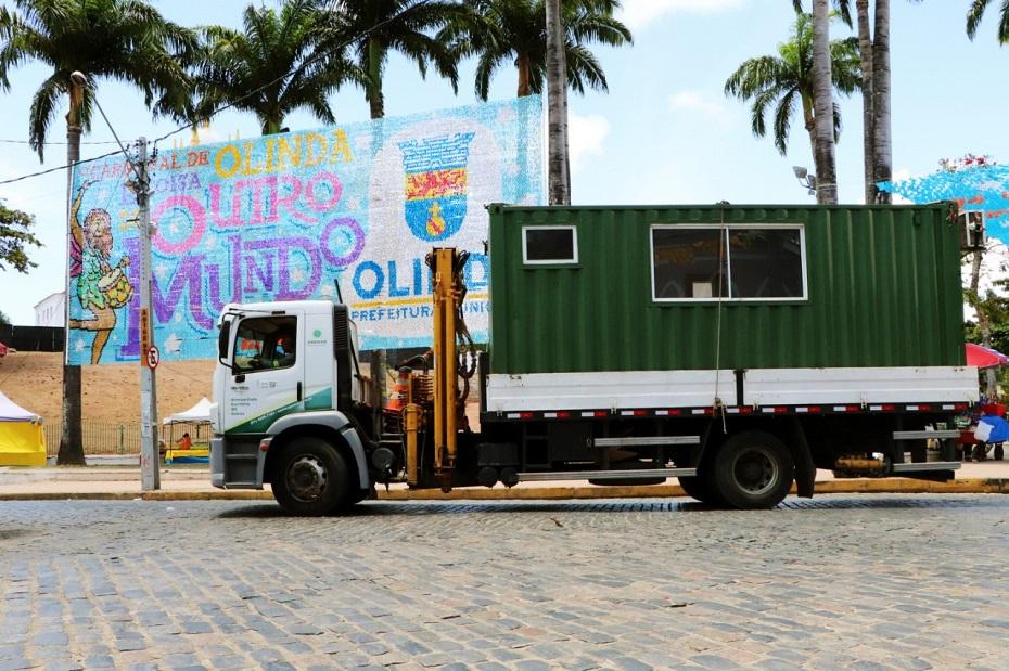 A Agemar, empresa pernambucana deve ter um aumento de 70% na movimentação dos containeres durante a folia