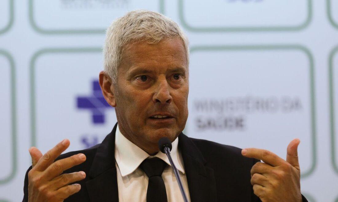 Secretário executivo do Ministério da Saúde, João Gabardo.