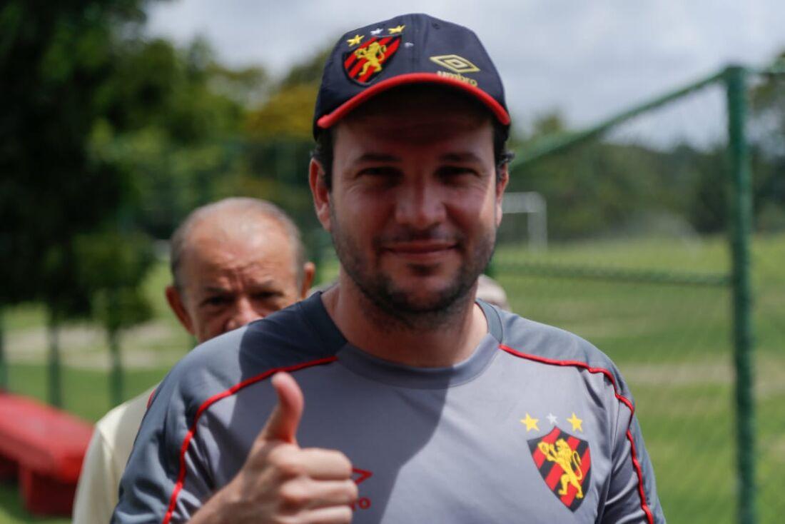 Daniel Paulista, técnico do Sport