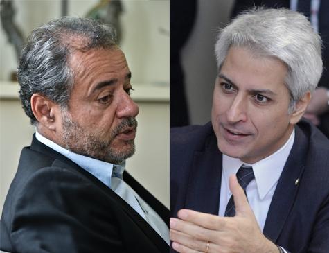 Danilo Cabral e Alessandro Molon