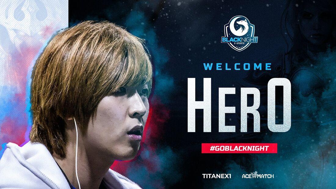 Black Night anunciou sul-coreano herO, estrela do StarCraft II