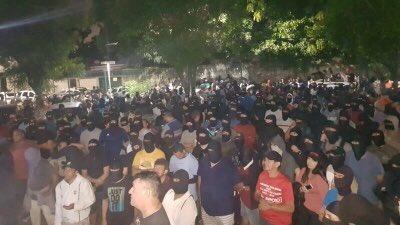 PMs protestam no Ceará