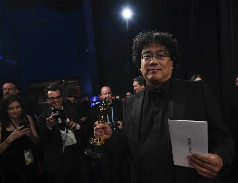 """Bong Joon Ho, diretor de """"Parasita"""", foi o destaque do Oscar 2020"""