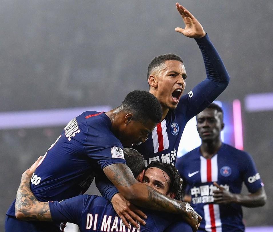 PSG ganhou pelo placar de 4 x 3 do Bordeaux