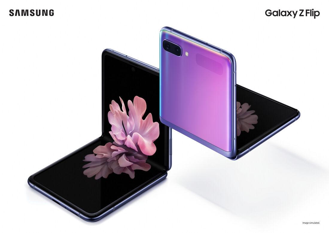 Galaxy Z Flip, smartphone dobrável da Samsung
