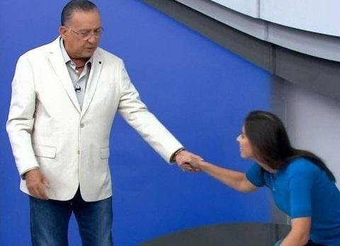 Galvão Bueno fez pedido de desculpas durante o programa 'Bem Amigos'