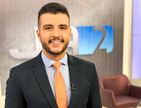 Apresentador Matheus Ribeiro