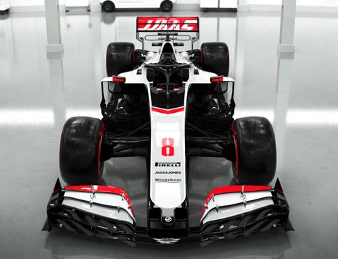 Novo carro da Haas para a temporada 2020