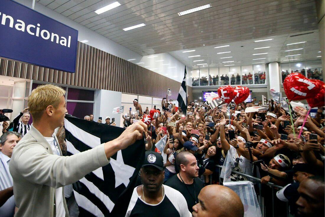 Chegada de Honda ao Botafogo