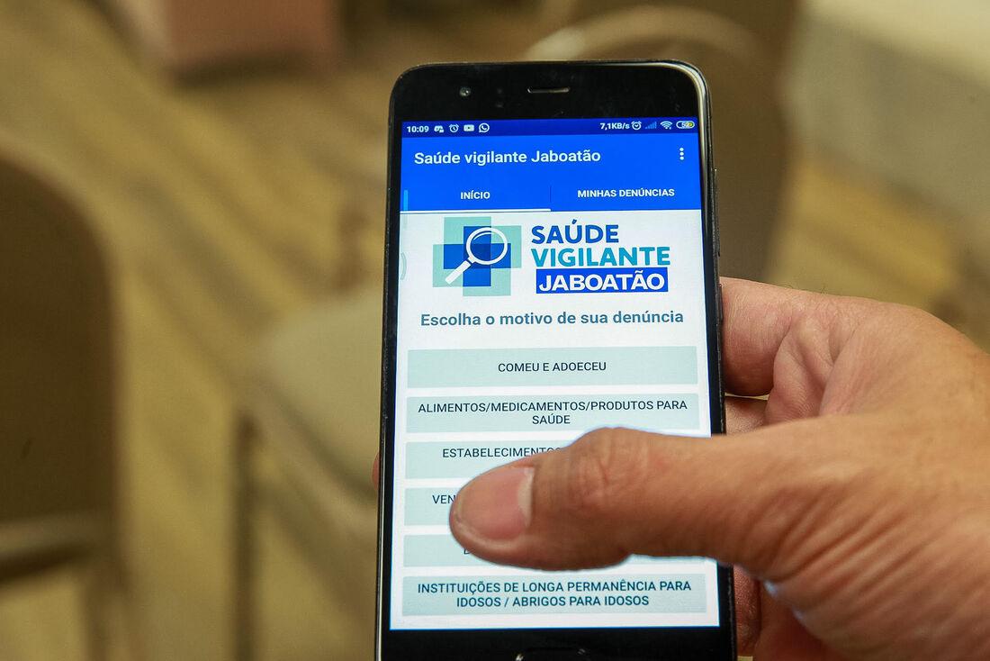 Jaboatão lança aplicativo Saúde Vigilante