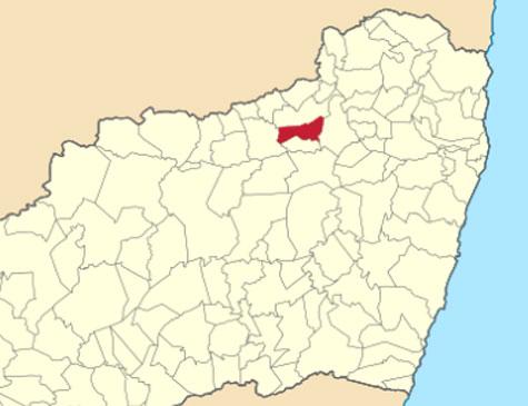 Localização de João Alfredo