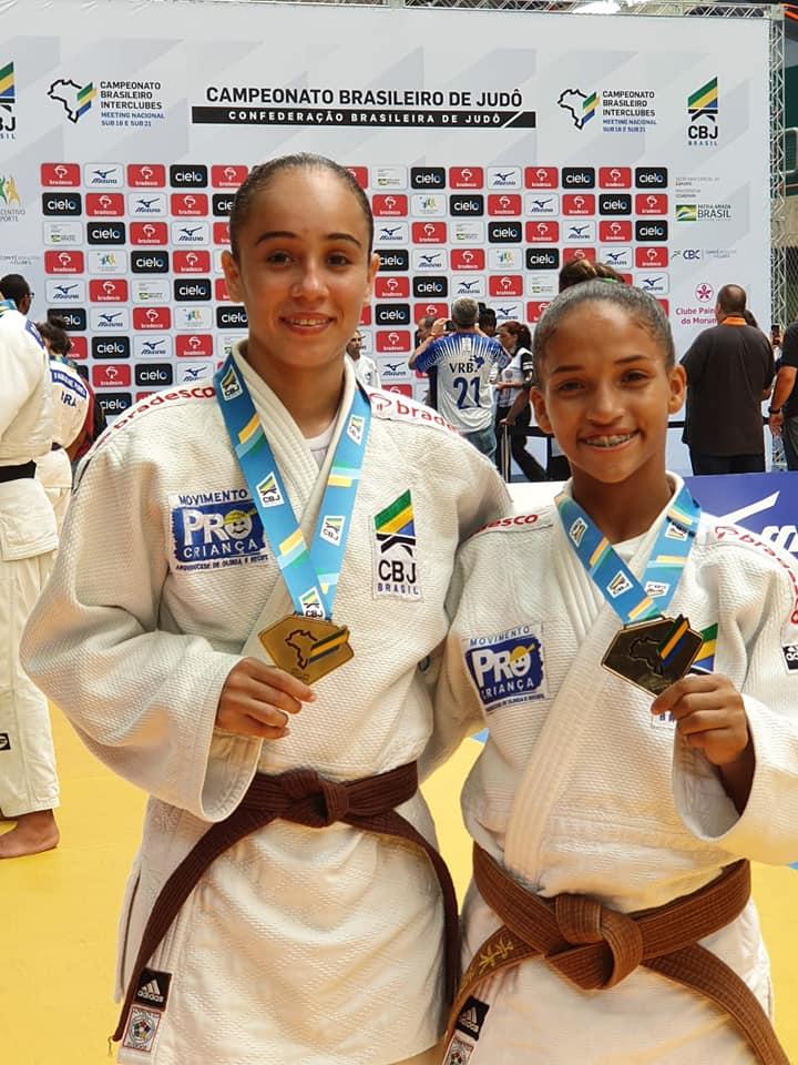 Rebeka Venceslau e Luciana Silva
