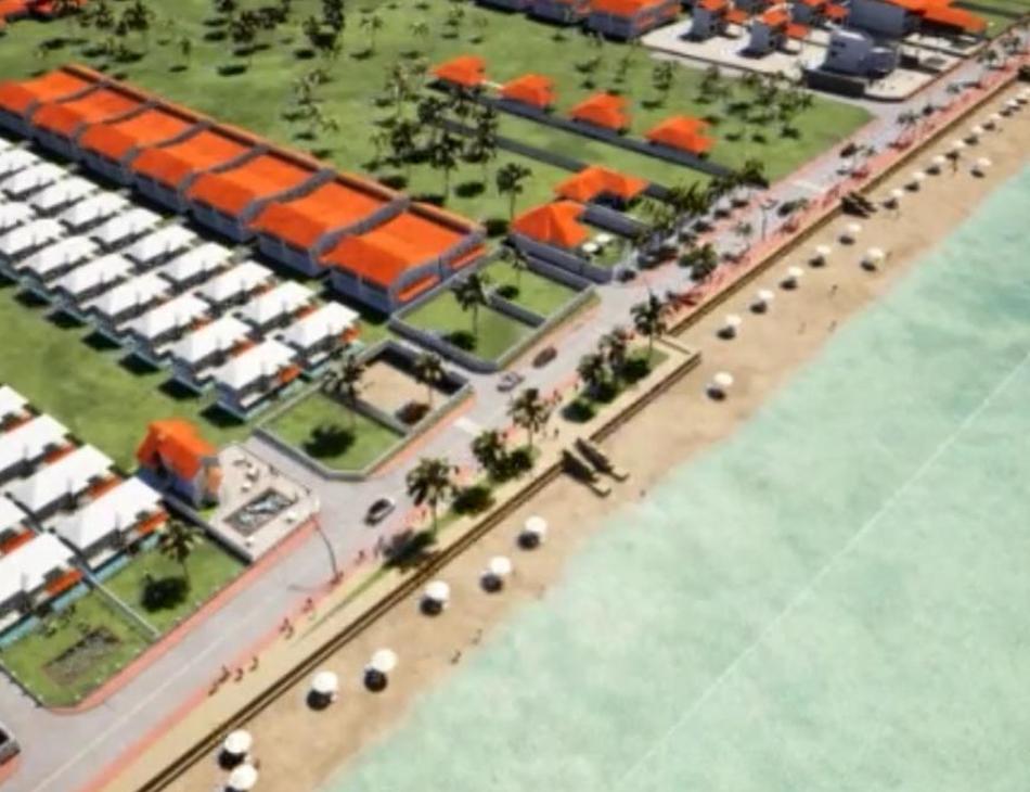 Imagem mostra projeto divulgado pela prefeitura