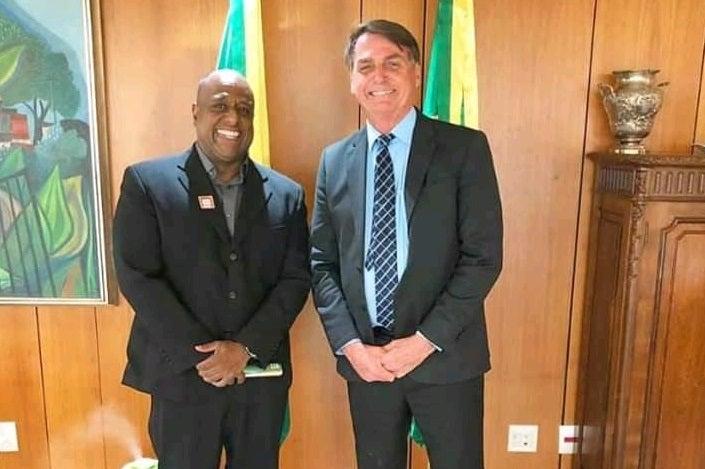 Marcello Negão tem laços estreitos com a família Bolsonaro