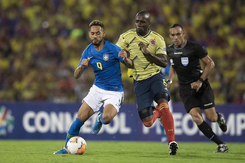 Matheus Cunha fez o gol brasileiro da partida