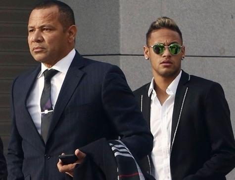 Naymar pai e Neymar Júnior