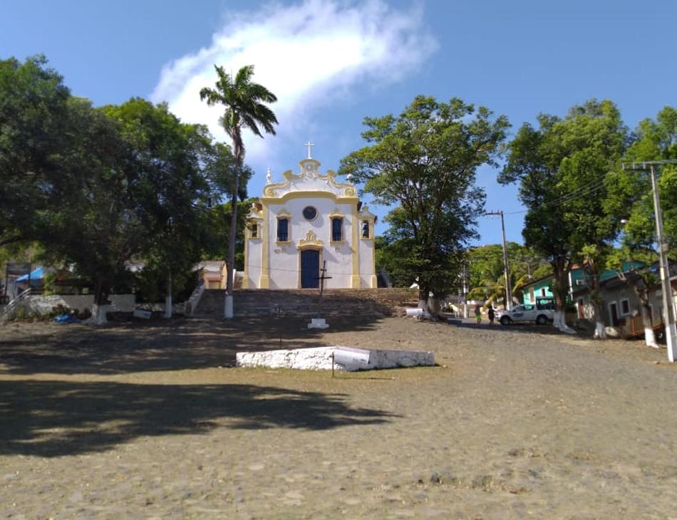 Igreja de Nossa Senhora dos Remédios, em Fernando de Noronha