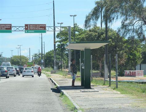 Parada de ônibus