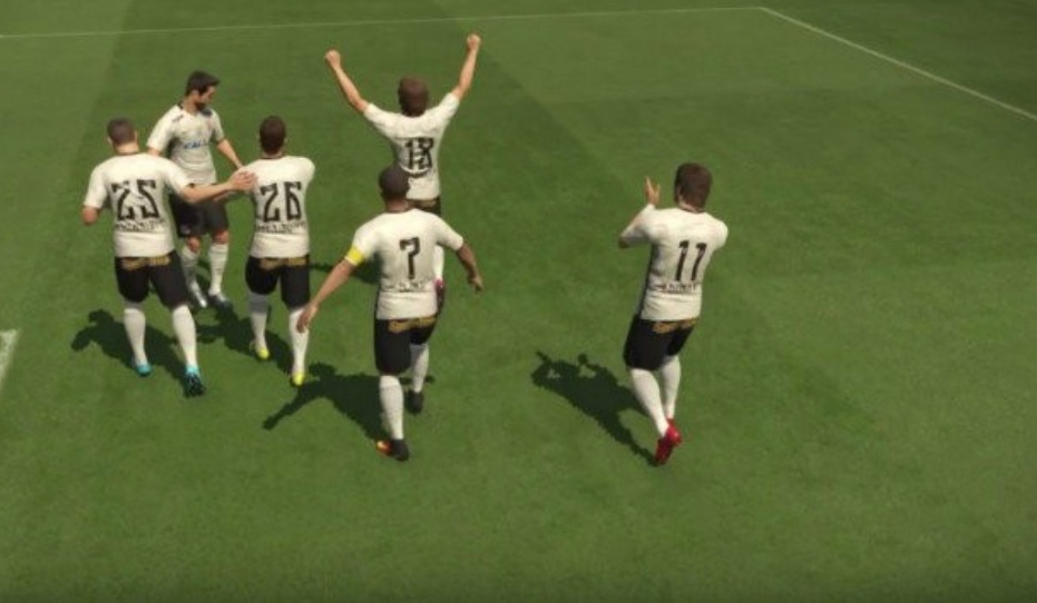 Clubes têm contrato de exclusividade com a Konami, do PES