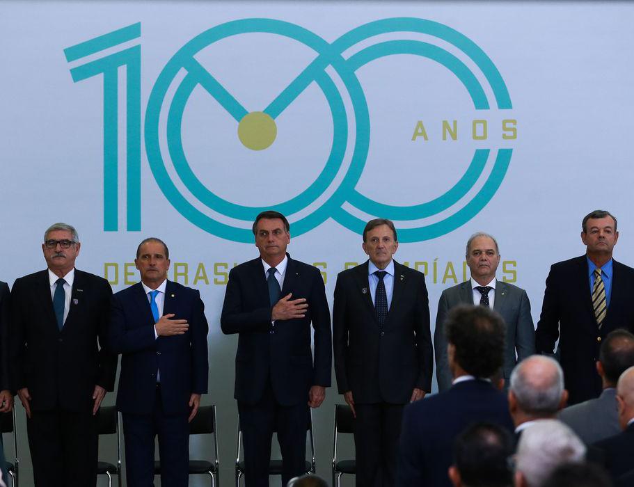 Atual governo no projeto Centenário Olímpico