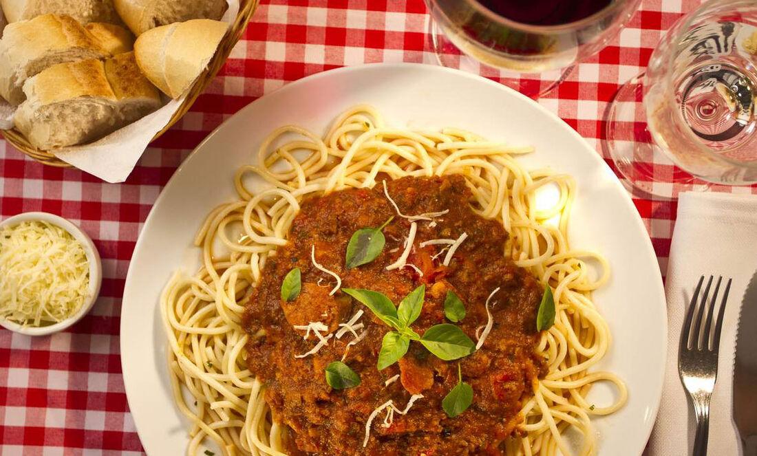 A receita tradicional do Cia do Chopp é opção na Arena Gastronômica