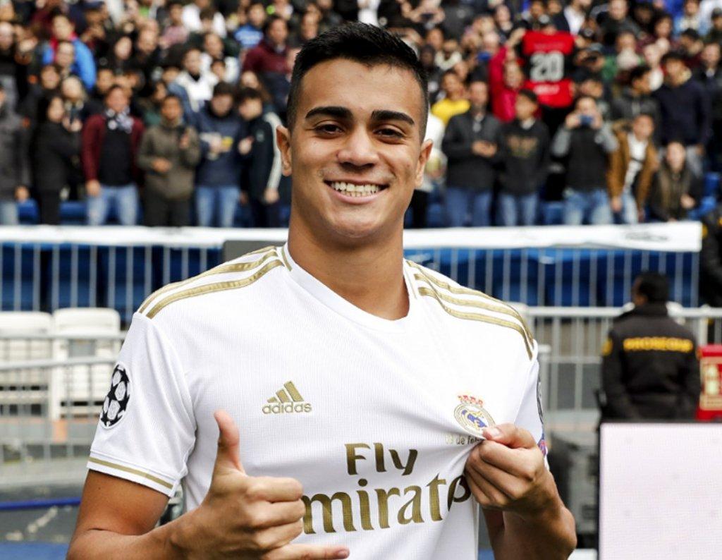 Reinier, novo meia do Real Madrid