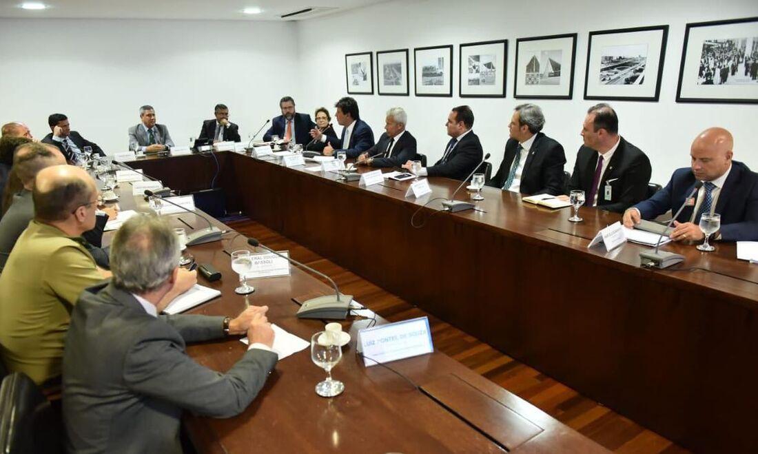 Reunião interministerial para debater ações de combate ao coronavírus