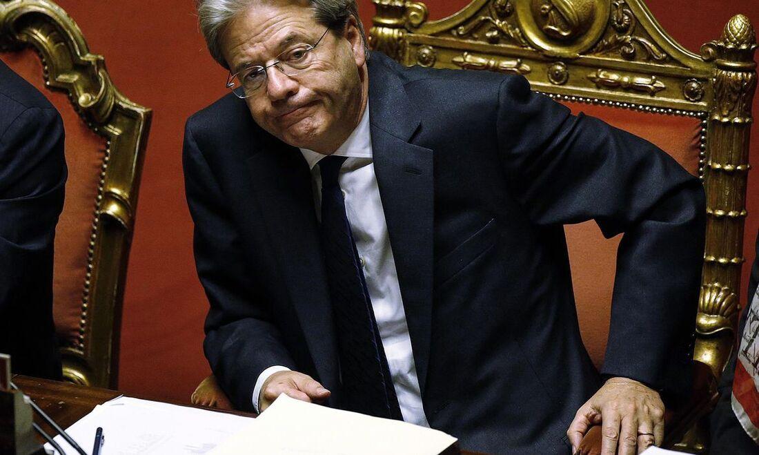 Comissário europeu da Economia, Paolo Gentiloni