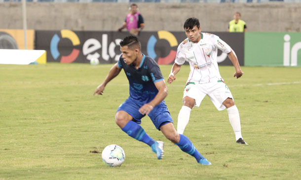 Augusto Potiguar, lateral-direito do Santa Cruz