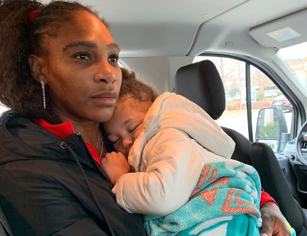 Serena Williams e sua filha, Alexis Olympia Ohanian Jr.