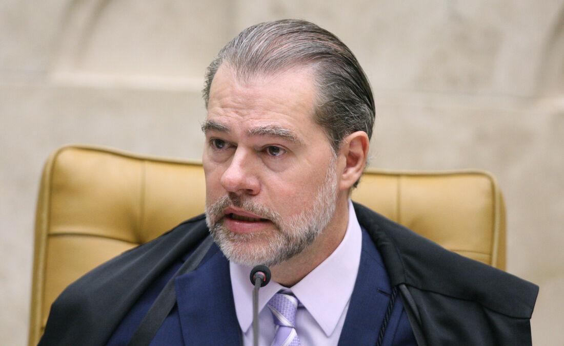 Ministro Dias Toffoli durante sessão de abertura do ano legistivo do STF