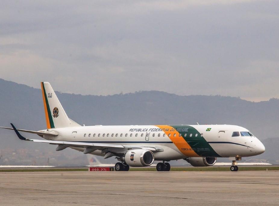Aeronave que cumprirá a missão de repatriação dos brasileiros em Wuhan