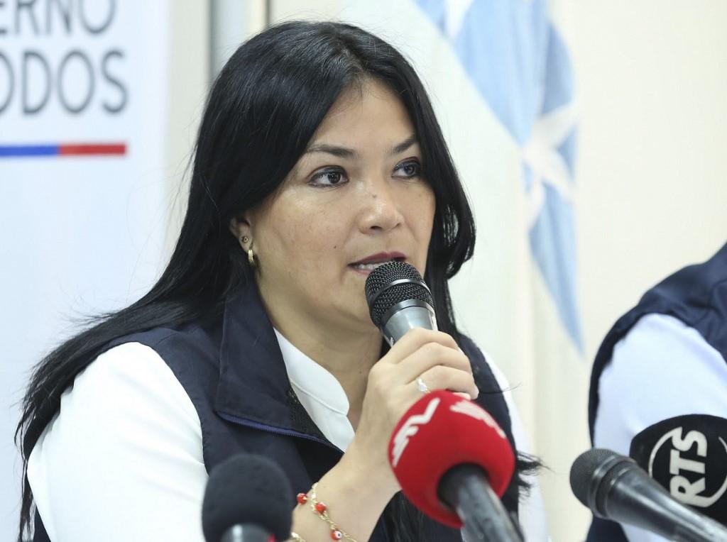 Ministra da Saúde do Equador, Catalina Andramuño