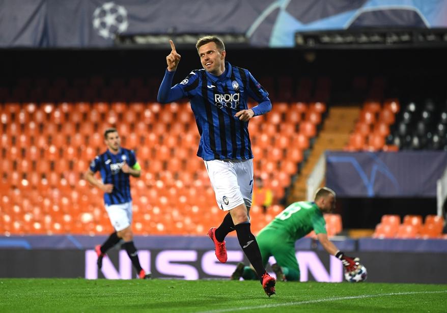 Atalanta avançou na Liga dos Campeões