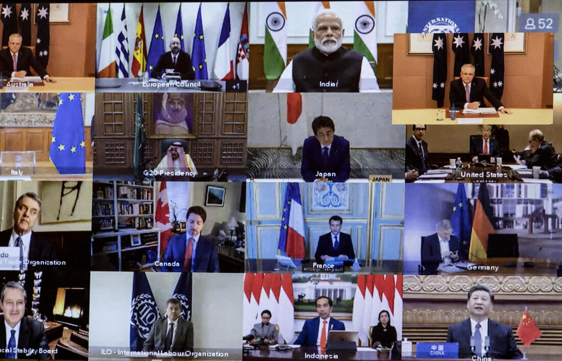 Membros do G20