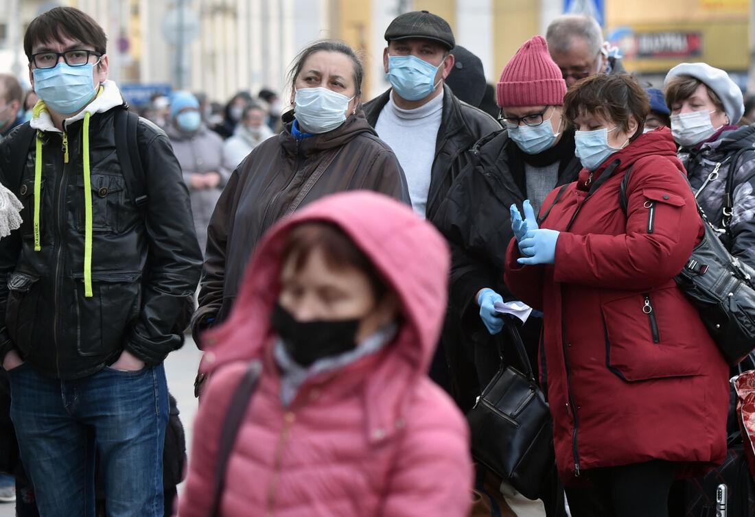 Coronavírus na Rússia