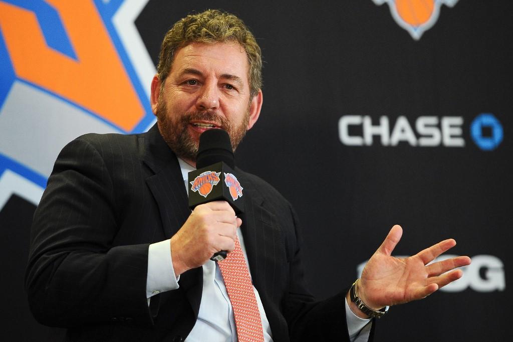 James Dolan, dono do New York Knicks