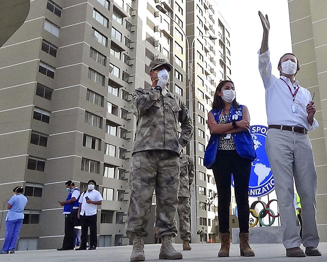 Vila no Pan de Lima terá capacidade para até três mil leitos
